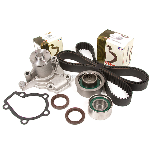 Timing-Belt-Kit-Water-Pump-Fit-Hyundai-Elantra-Kia-Sportage-Spectra-2-0L-G4GF thumbnail 2