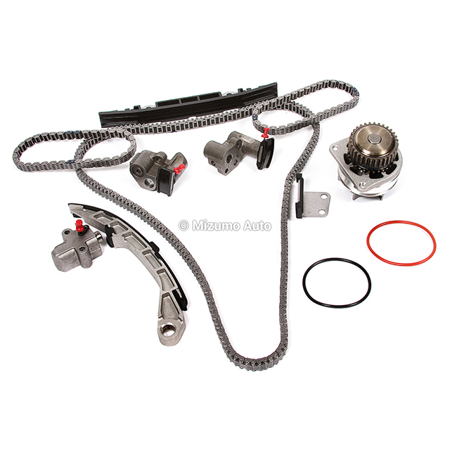 Timing Chain Kit w/o Gears Water Pump Fit 09-10 Nissan