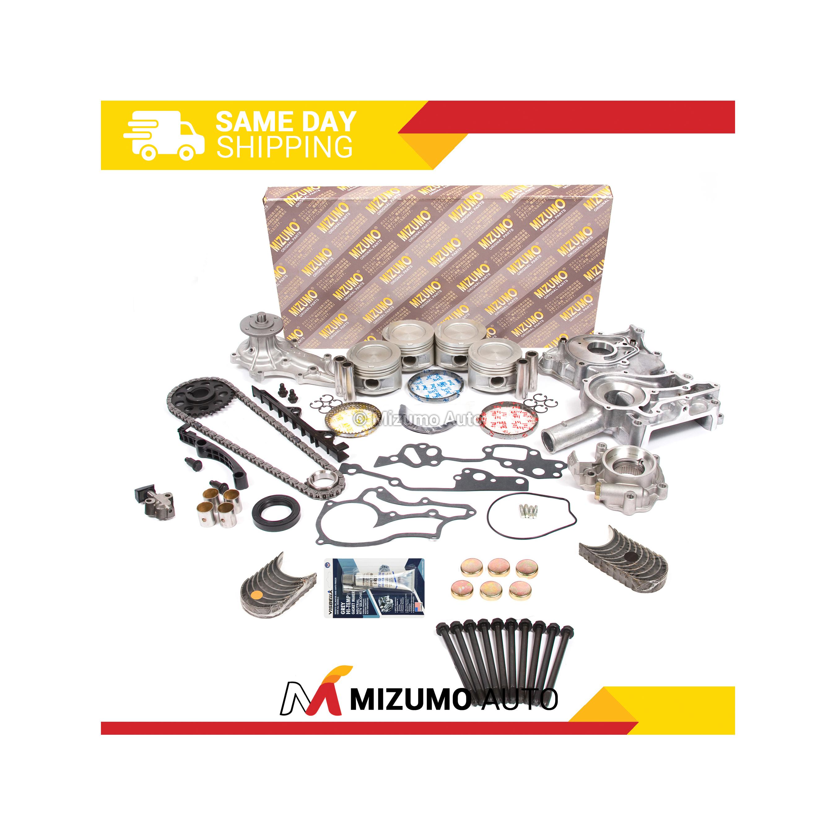 Premium Engine Ring//Bearing Kit .25mm 85 Toyota 2.4L Pickup 4Run w// Turbo 22R
