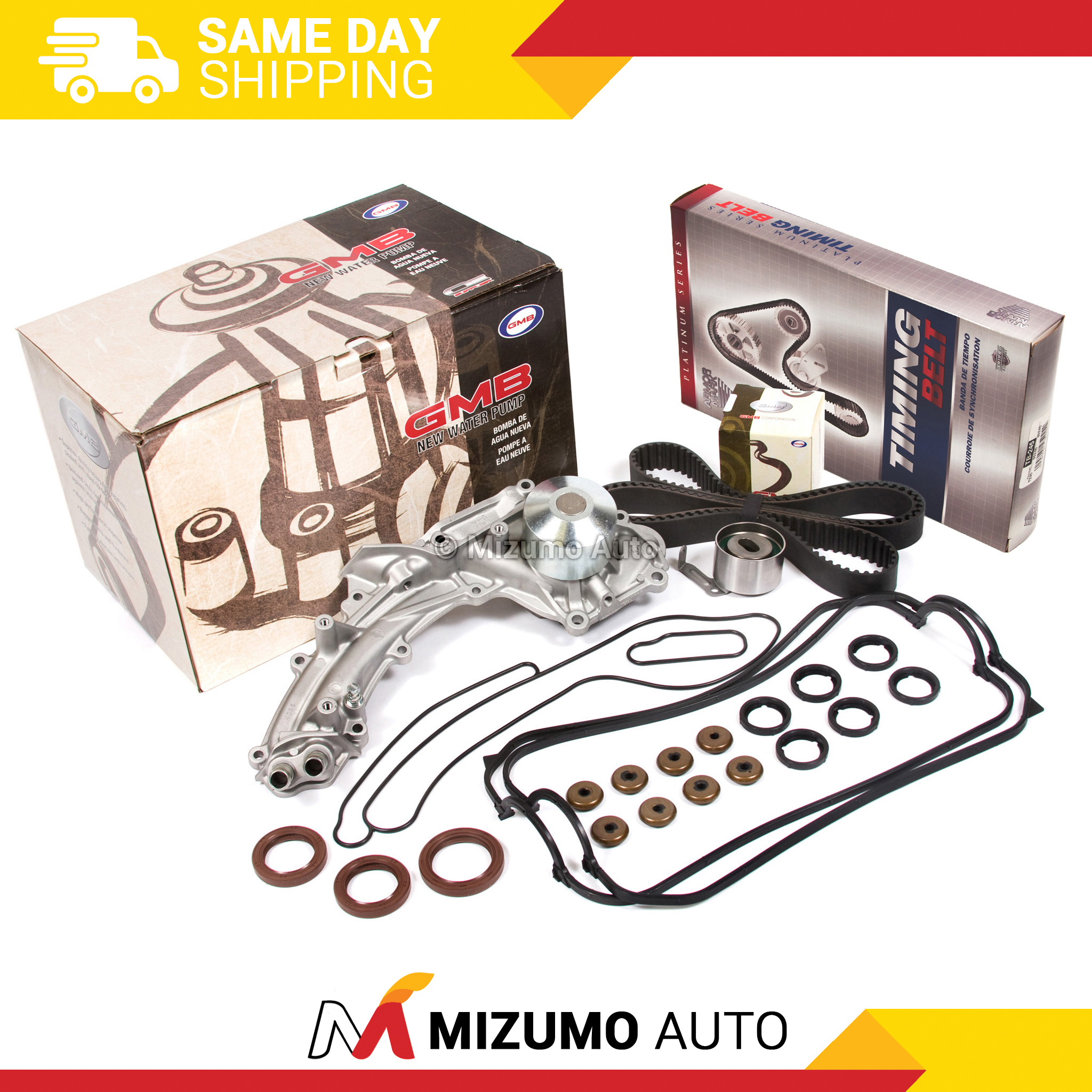Timing Belt Kit Valve Cover Water Pump Fit Acura Legend 2