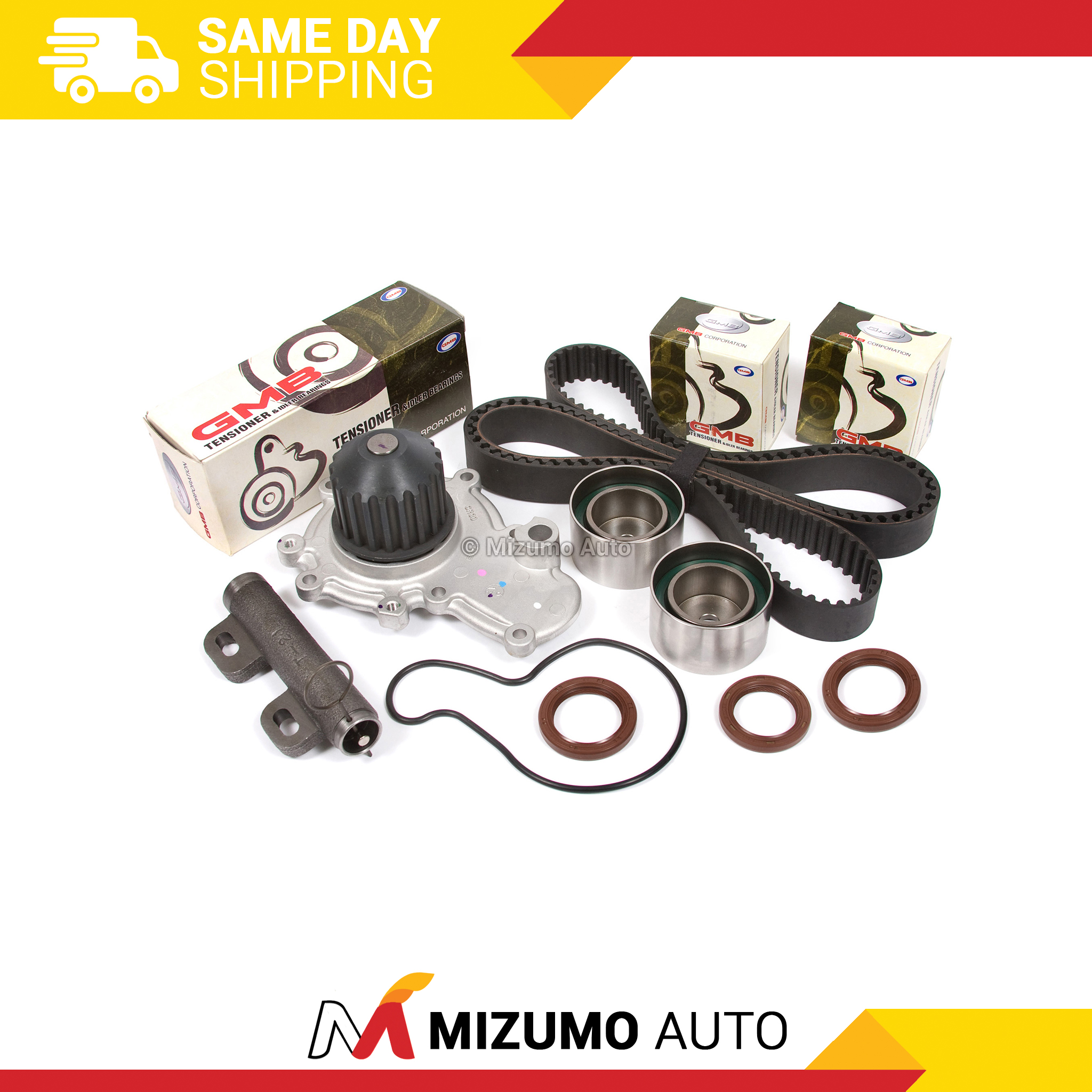 Timing-Belt-Kit-Water-Pump-Fit-95-99-Dodge-Plymouth-Eagle-Mitsubishi-2-0-420A