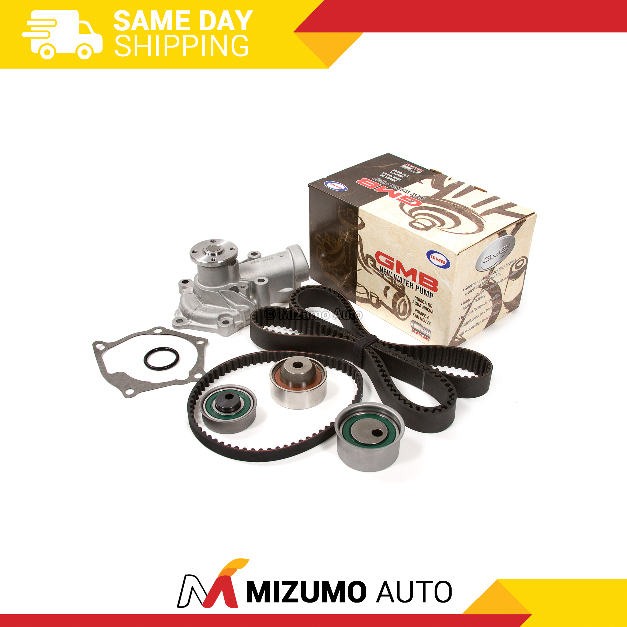 Timing-Belt-Kit-Water-Pump-Fit-2-4L-Mitsubishi-Eclipse-Galant-Outlander-4G69