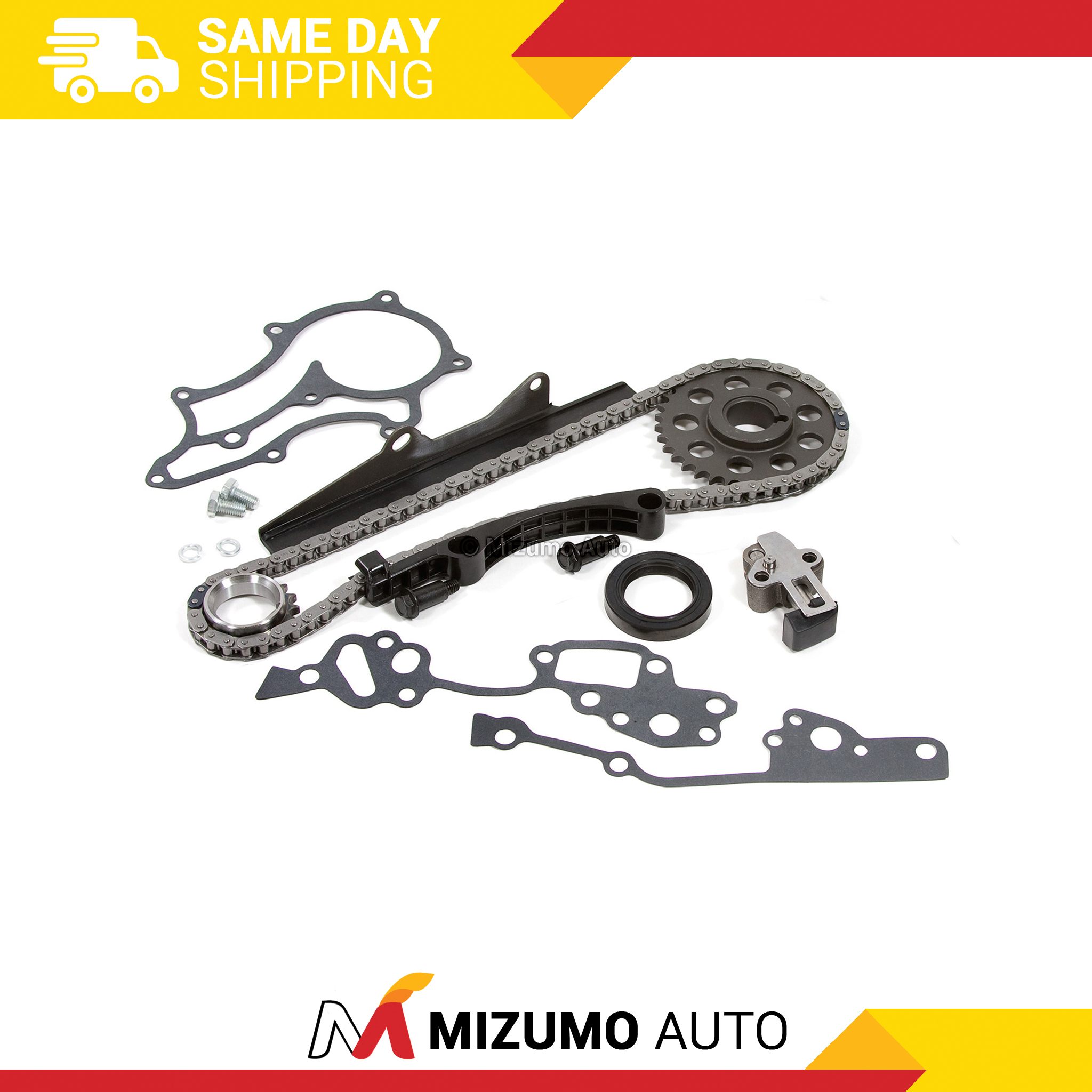 Fits 85-95 Toyota 2.4L Timing Chain Heavy Duty Metal Guides 22R 22RE 22REC