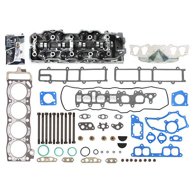complete cylinder head head gasket set head bolts fits 85. Black Bedroom Furniture Sets. Home Design Ideas