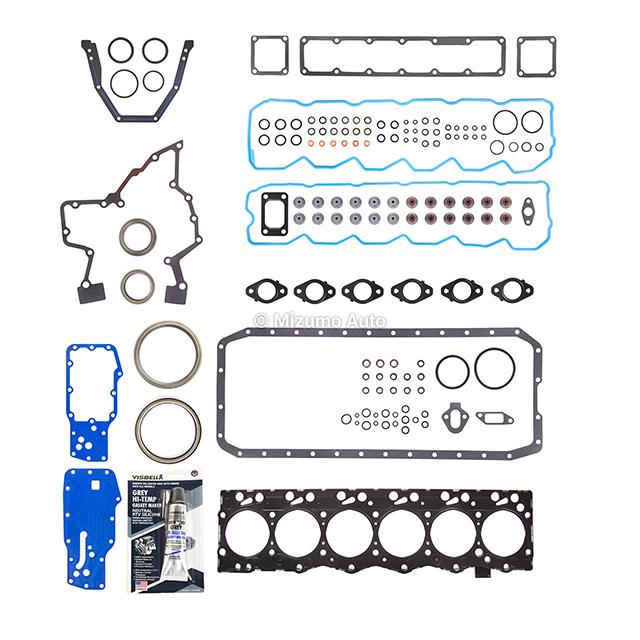 7 6 Head Gasket Set Fit 03-09 Dodage Ram 2500 3500 Turbo 5.9L OHV VIN C