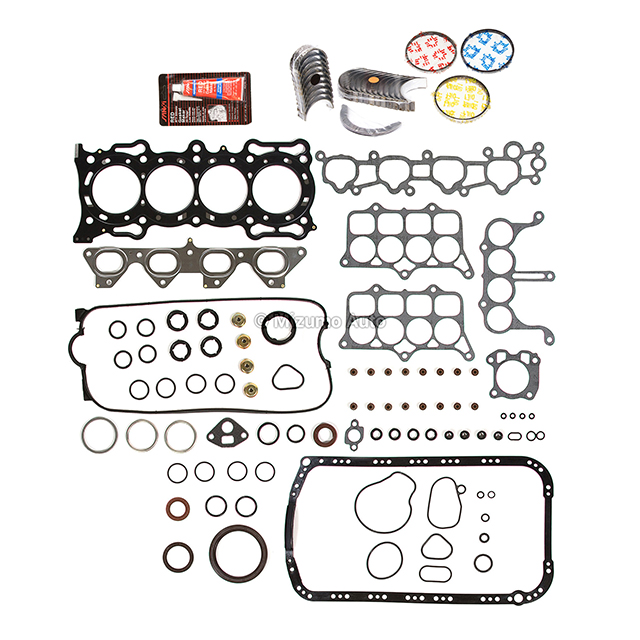 Fits 90-93 Honda Accord 92-96 Prelude S 2.2L SOHC Re-Ring Kit F22A1 F22A6 F22A4