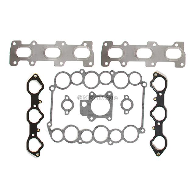 Full Gasket Set Bearings Rings Fit 98-04 Isuzu Honda Acura 6VD1 6VE1