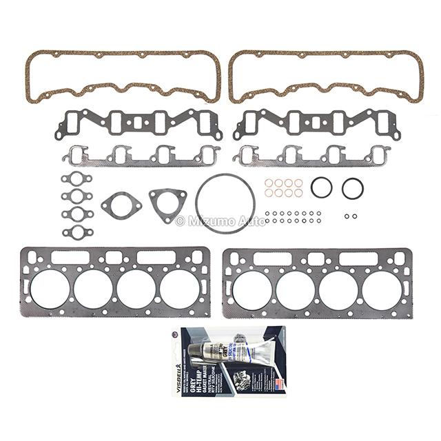 HSU8726, 9521PT Head Gasket Set Fit 92-02 Chevrolet GMC 6.5L OHV DIESEL ...