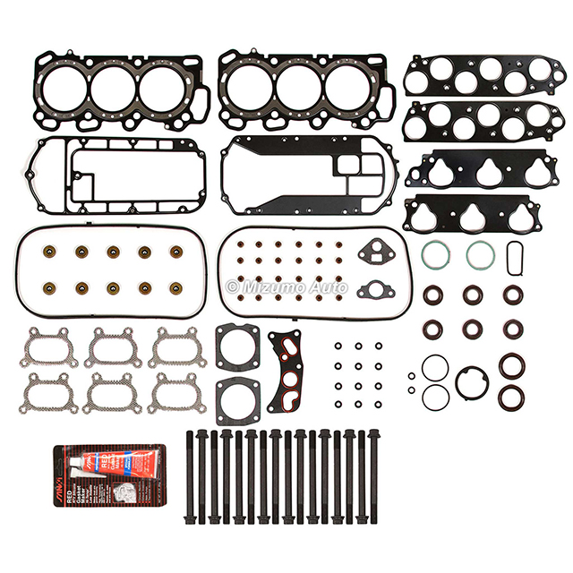 Head Gasket Bolts Set Fit 03-05 Acura MDX TL Honda 3.2 3.5