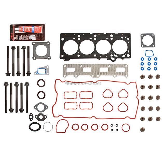 For 02-09 CHRYSLER PT CRUISER Cylinder Head Gasket+Bolts kit 2.4 16V DOHC VIN B