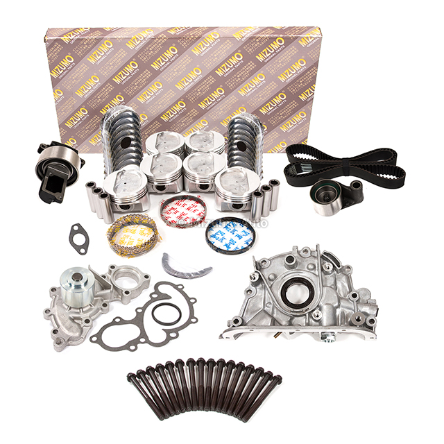 overhaul engine rebuild kit water pump  outlet fit   toyota  vze ebay