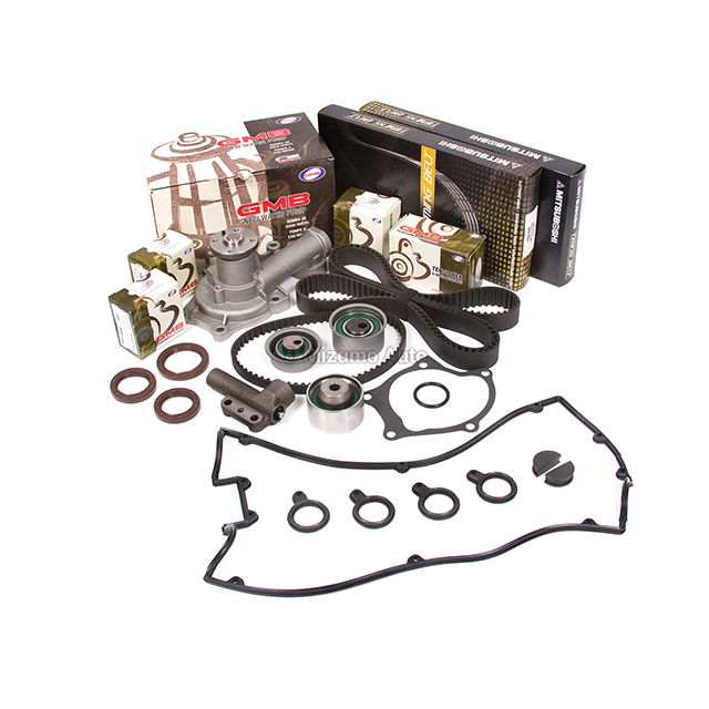 Fit 89-92 Mitsubishi Eagle 2.0L Timing Kit Water Pump Valve Cover GMB Tensioner