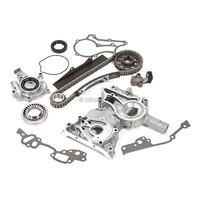 timing chain kit oil pump timing cover fit 79