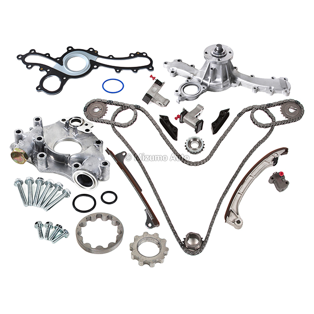 timing chain kit water pump oil pump fit toyota tacoma