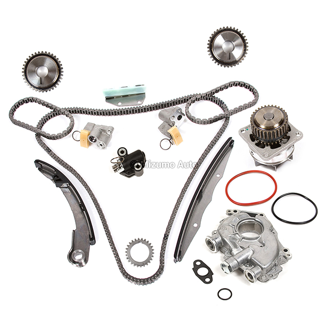 timing chain kit water oil pump fit 05