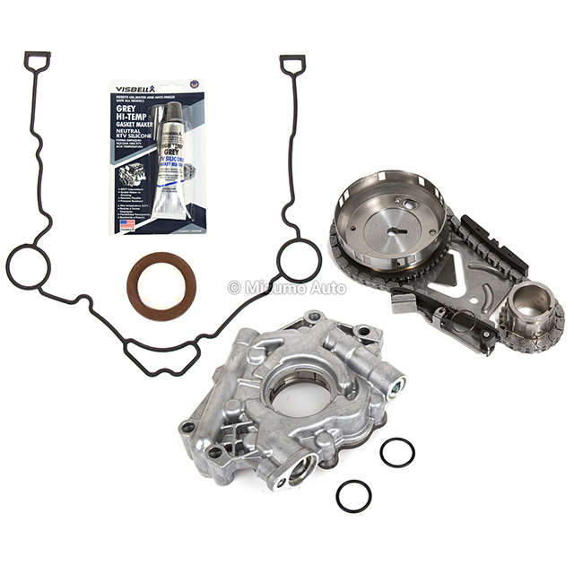Timing Chain Kit Water Pump Cover Gasket Fit 04-08 Chrysler Dodge 5.7 HEMI
