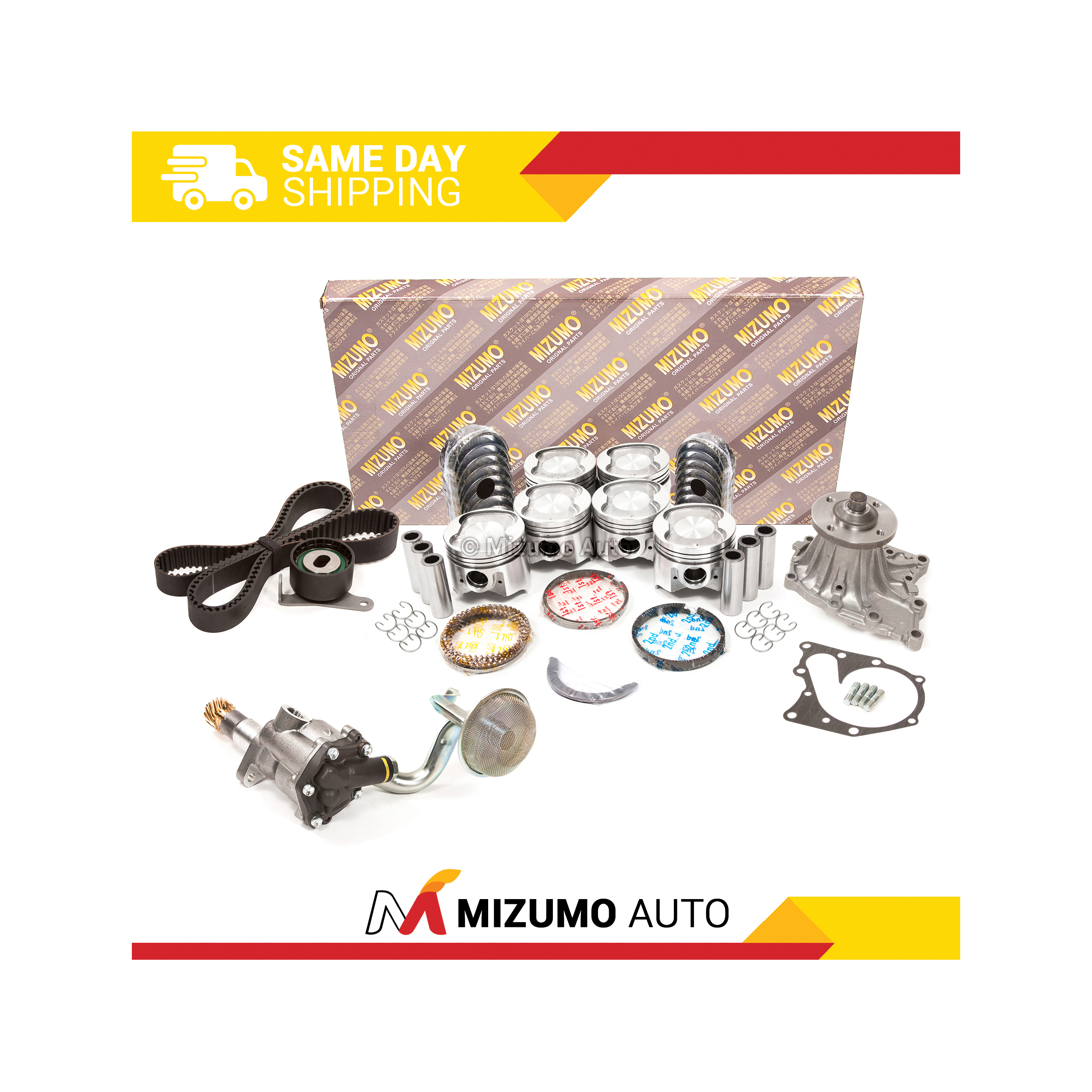 Details about Engine Rebuild Kit Fit 86-92 Toyota Supra 3 0L DOHC 7MGE