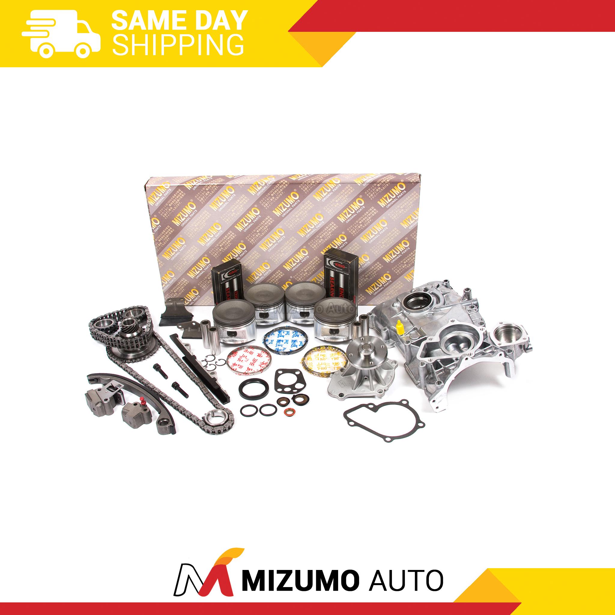 Engine Rebuild Kit Fit 95-98 Nissan 240sx 2 4l DOHC Ka24de