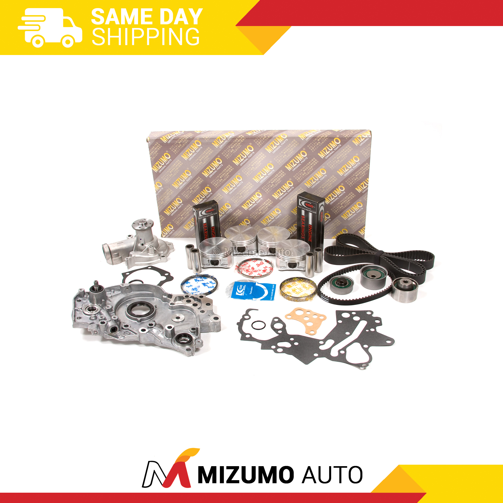 Mitsubishi Eclipse 2000 Remanufactured Complete: Engine Rebuild Kit Fit 99-05 Mitsubishi Eclipse Galant